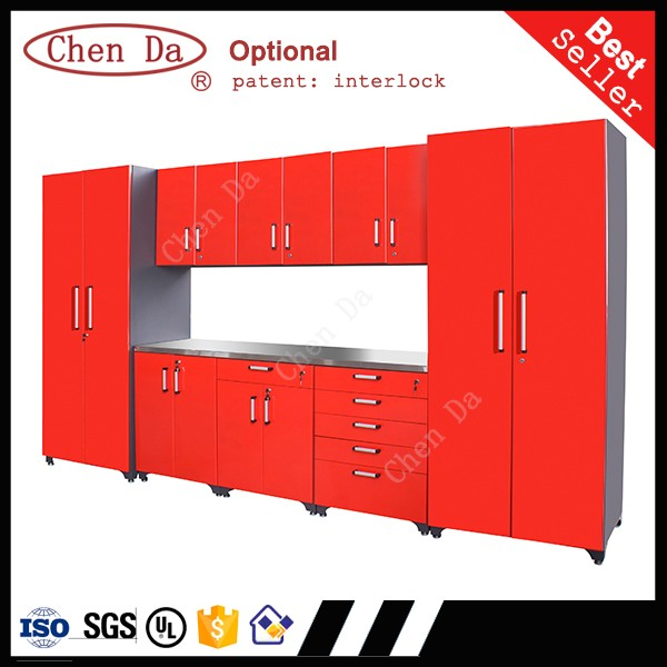 professional garage storage cabinets with doors and drawers
