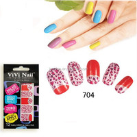 2015 Newest Full Gel Polish Nails Stickers