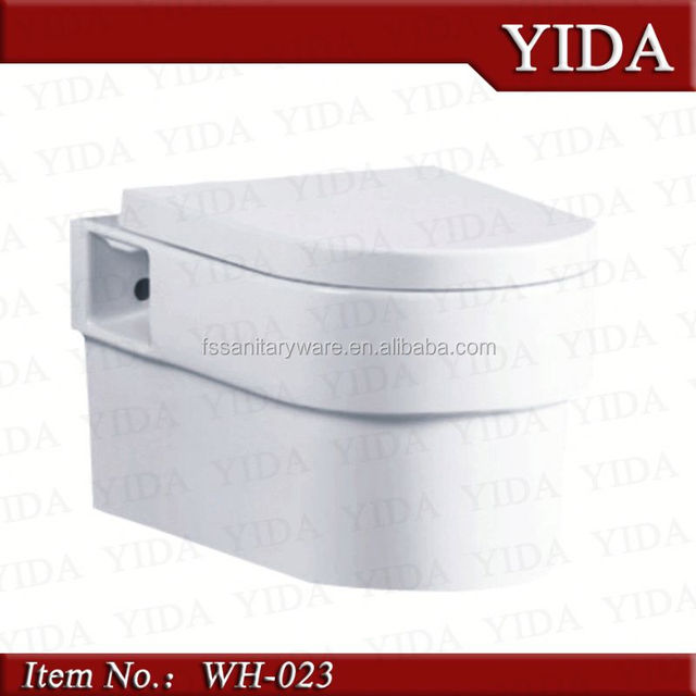Ceramic Bathroom Save Spaces Wall hung toilet/WC/ Water Closet for india and european market