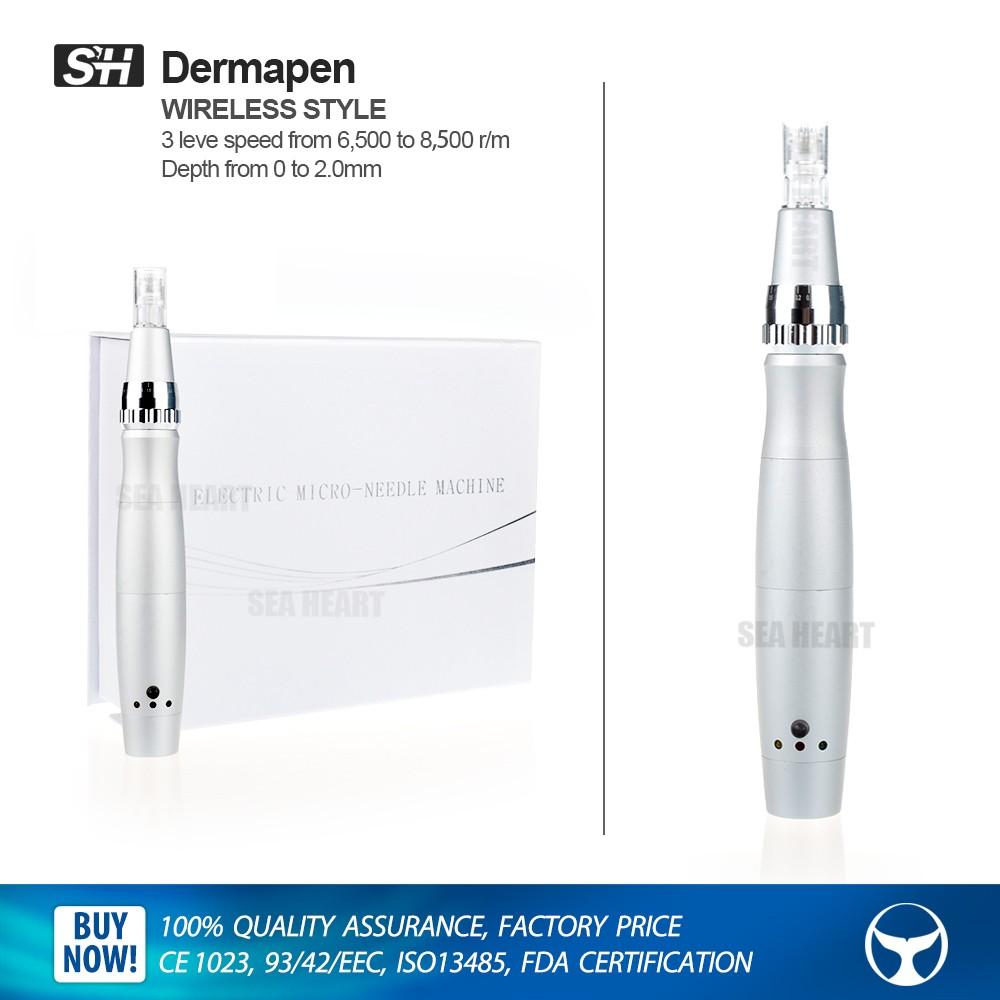 Skin safe auto electric pens medical grade derma pen(CE Proof)