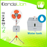 16 inch outdoor cooling system fans industrial water mist fan with 3 speeds