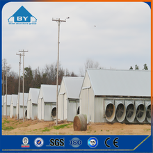 Low Cost Light Steel Frame Shed Commercial Chicken House