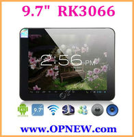 "9.7"" Dual Core RK3066 Android 4.2 1.6GHz External 3G Tablet PC with Bluetooth, Pen Input Technology, 10-Point Capacitive OPNEW"