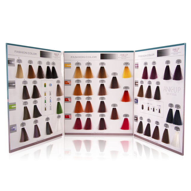 Asian professional hair dye color design iso hair color chart