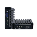 Fanless Mini Computer Industrial Controller PC core i3 i5 3G 4G network office living room dual display HTPC