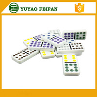 55 pieces plastic game set odm domino chips