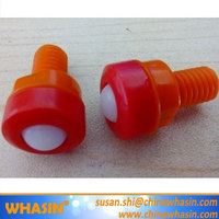 ACR35RH Mini Ball Transfer Units 11MI-06-13 Alwayse Stud 35mm Rubber 25mm Dia Steel Ball. M8x50 Bzp