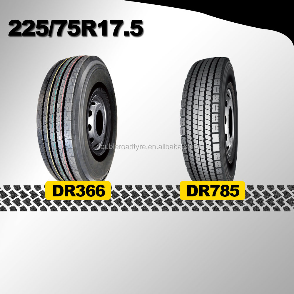 doubleroad all position china bus/truck tire sizes 225/75R17.5