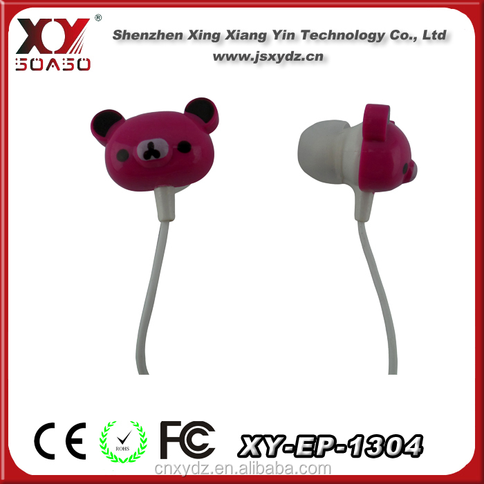 Fashionable silicone earphone rubber cover with good apperance