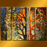 Wholesale quality abstract painting acrylic art