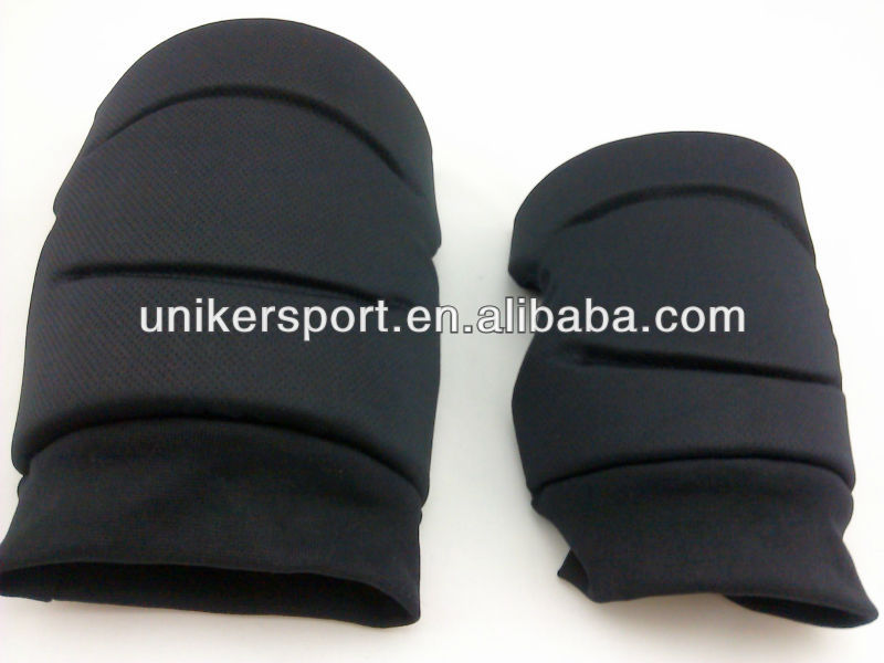 Black Junior Sized Volleyball Flex Groove Memory Foam Knee Pads