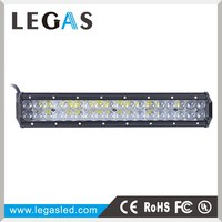 FCC certification double row auto brightest 8-32V 108W car led light bar,wholesale led light bar,led bar light offroad