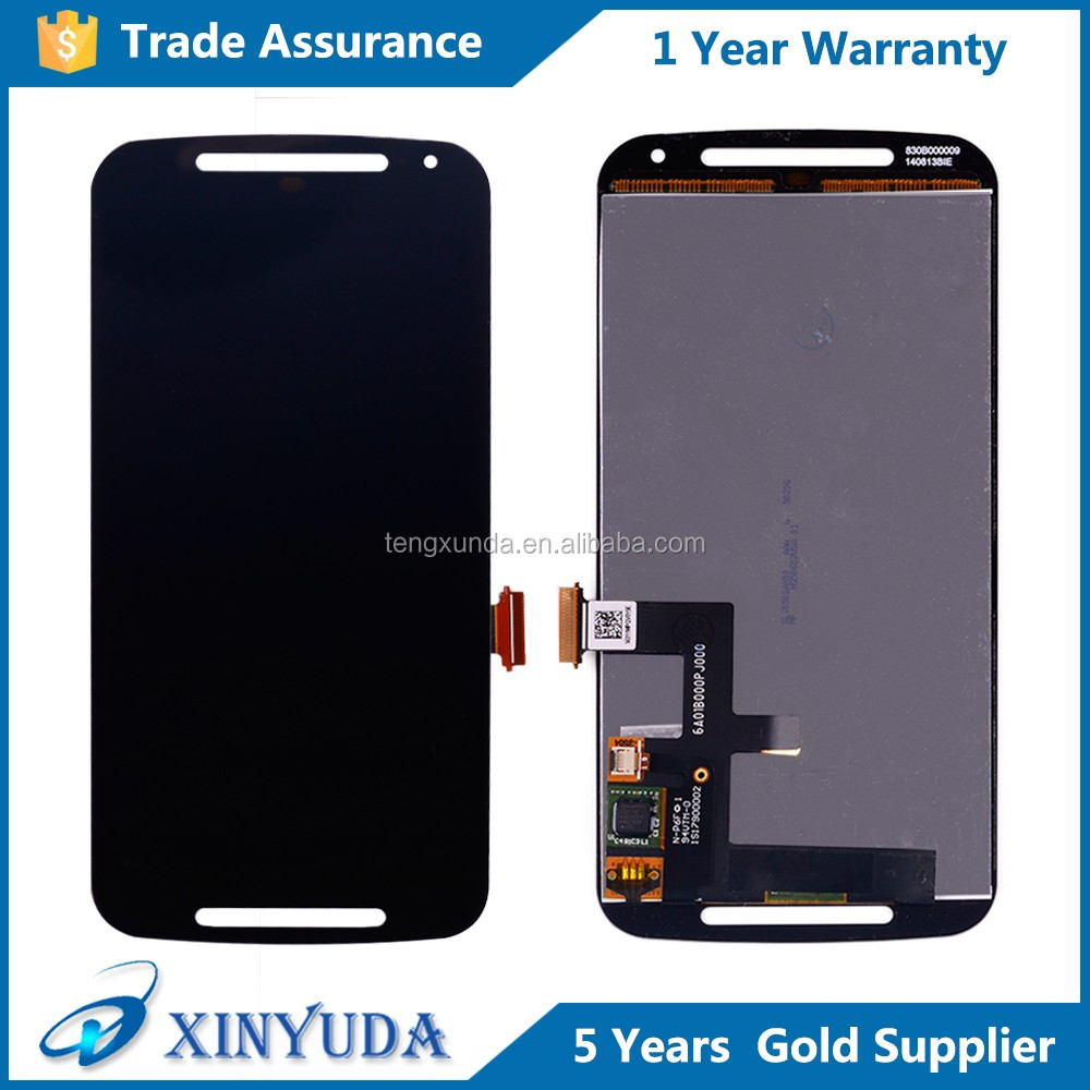 Wholesale price LCD touch digitizer with replacement screen assembly for Moto G2 <strong>G</strong>+1 XT1063 XT1068 XT1069
