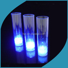 2015 Hot Promotional Barware Flashing Plastic Shot LED Plastic, Multicolor Light Up Cup, Drinking Led Cup