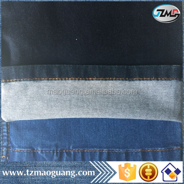 2016 new arrival high quality best price light weight 5.9oz spandex jeans fabric roll for girls' jeans jeans fabric mill