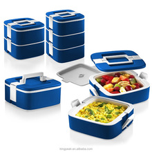 2017 Best selling Stackable Bento Lunch Box /Double-wall Insulated Food Storage Container/Portable Picnic thermal container Dish