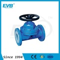 Manual Weir-type Rubber or Fluorine Lined Diaphragm Valve