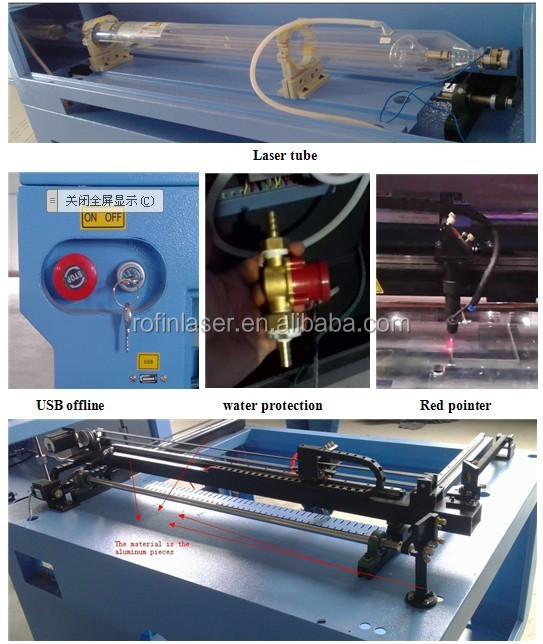 china philicam cnc mixed laser cutting machine FLDJ1610