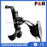 New Universal Windshield Car Mount Bracket Holder Cupule Black for iPhone,for Sumsang Smart Phone PDS GPS Camera Record