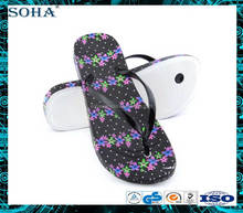 Eco friend beach cheap men rubber flip flops with custom logo