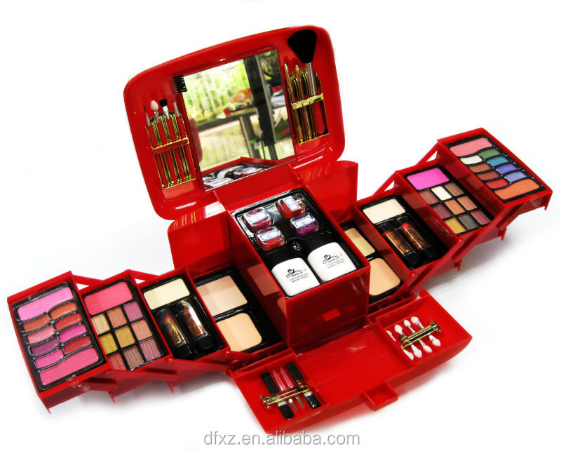 Big Portable Makeup Set,makeup kit for girls