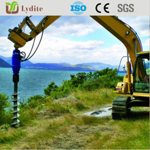 hydraulic portable auger use for earth drill 1meter deep or more