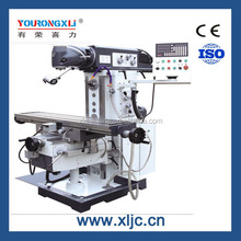 XL6430W Universal Rotary table Angle Head Milling machine