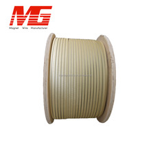 Hot Sale Class 155/180 Double Fiber Glass Covered Aluminum Flat Wire