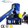 china made plastic film waste plastic pe pp washing machine recycling line price