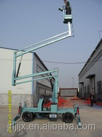 crank arm lift, skylift, electric pickup truck