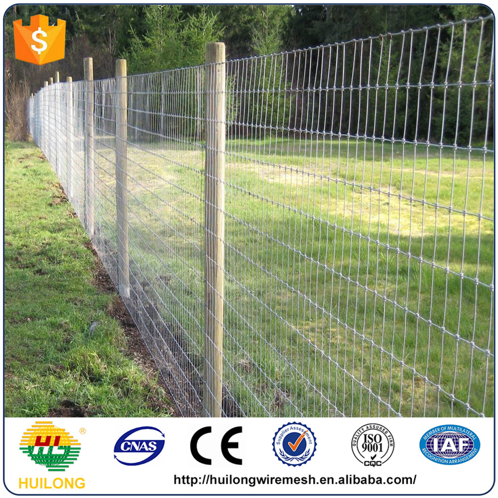 Galvanized Electric Fence Net Cattle Fence Cheap Price