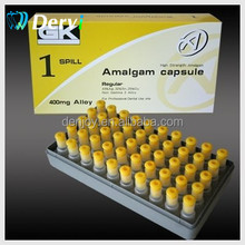 Dental lab material Amalgam Capsules 1 Spill 400mg (Yellow) dental amalgam