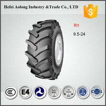 Made in China, TT 8PR R1 tread 9.5-24 tractor tires