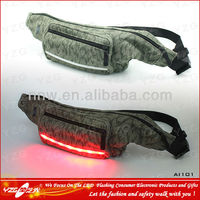 Customized Fishing Bum Bag With LED Lights
