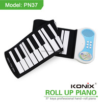 Best Christmas Gift Hand Roll Piano Keyboard Children Piano for Kids