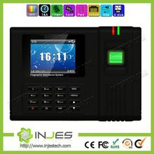 Fingerprint model Employee inbuilt Printer TFT screen TCP IP online payroll time calculator