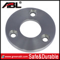 2016 Durable Casting 304/316 stainless steel polished stainless steel squar base flange,handrail casting flange