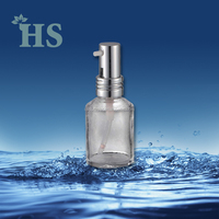 hs-d20a china manufactory glass bottle pump dispenser