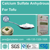 calcium sulfate anhydrous for tofu from China direct factory since 1994,good price ,E516 Food grade.hs 2833299090