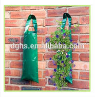 plastic hanging flower bags