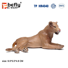 Africa animal model plastic lion toy for kids collection