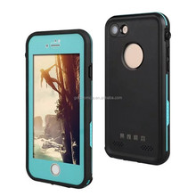 Hot sales waterproof case for iphone 7, waterproof silicone case for iphone7