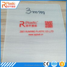 2-12mm Plastic Corflute sheet floor protection
