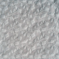 100% cotton embroidery design lace fabric for baby garment.