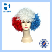 2014 World Cup Crzay Cheap Party Fans Wigs Colorful Football Fans Wigs