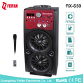 Top Sale 5.0 Inch Portable Bluetooth Speaker With Fm Radio RX-S50