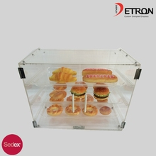 3-tier clear acrylic bread display stand & bread racks