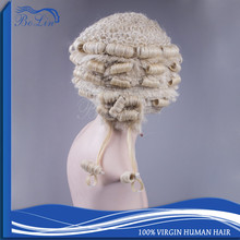 Wholesale Design Standard 100 Horse Hair Lawyers Wig Top Grade Horse Hair Barrister Wig