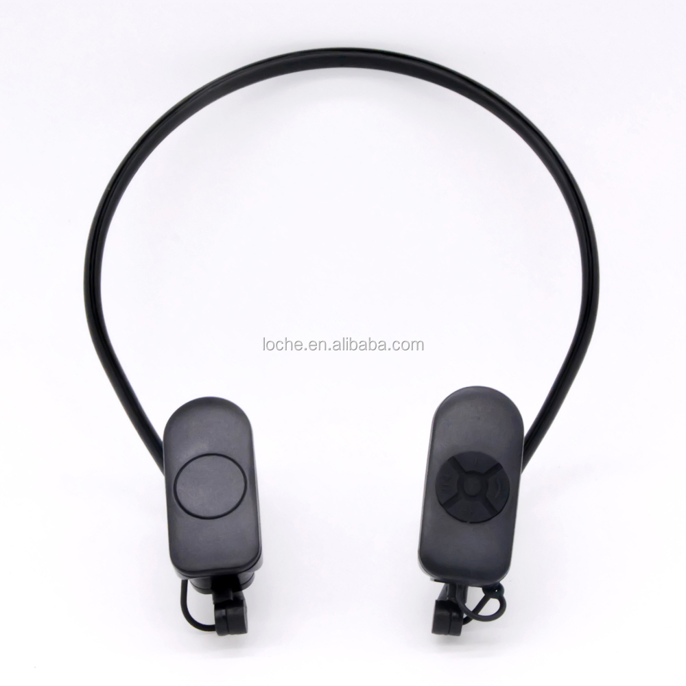 2017 OEM H10 Bone Conduction Bluetooth Headphone + MP3 BT4.1 Sports design