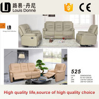 Indoor Modern Luxurious Relax Recliner Japanese Style Leather Sofa